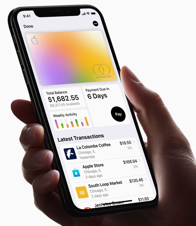 Apple card benefits balance
