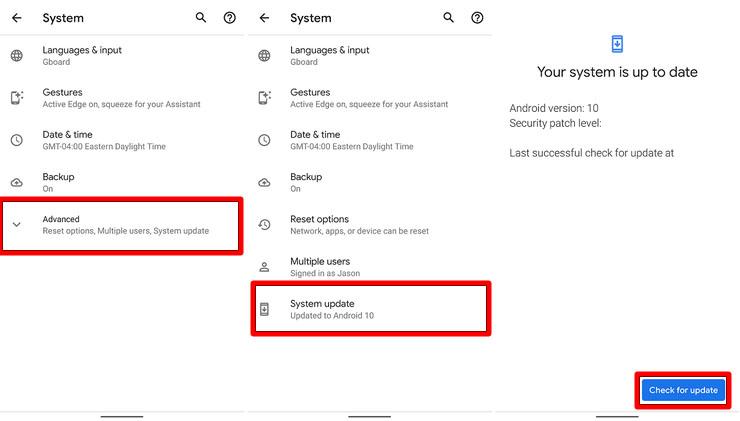 Como atualizar para o Android 10