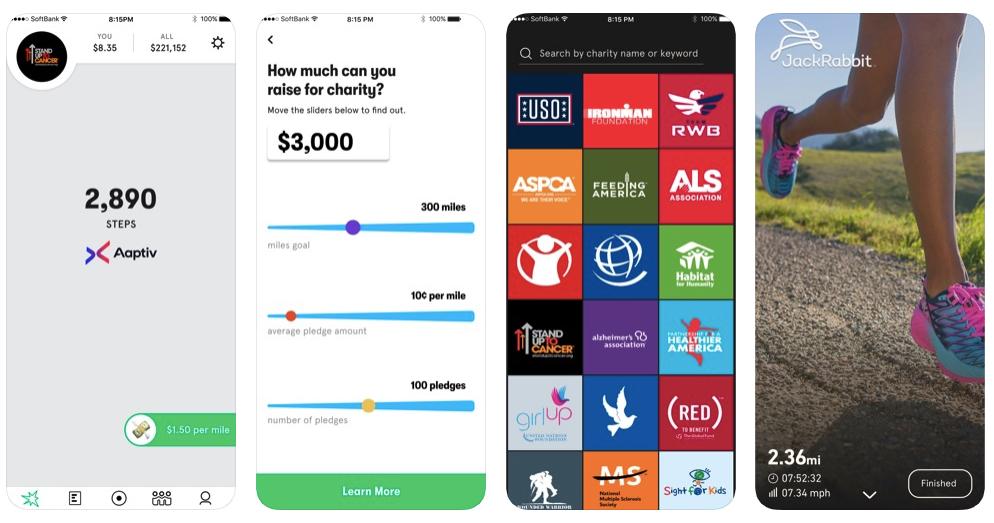 app de caridade milhas de caridade