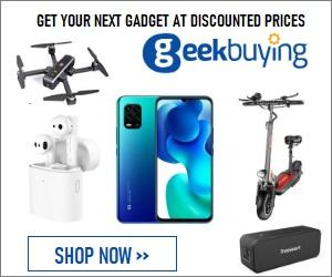 Trouvez le gadget que vous aimez sur Geekbuying.com